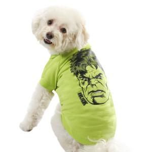 Your pet will have superhuman strength in no time in this Hulk tee  – PetSmart $15.00 #superpets