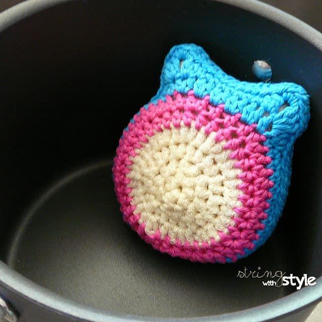 Crochet Owl Scrubbie Pattern Lots Of Cute Ideas Crochet Owls Free