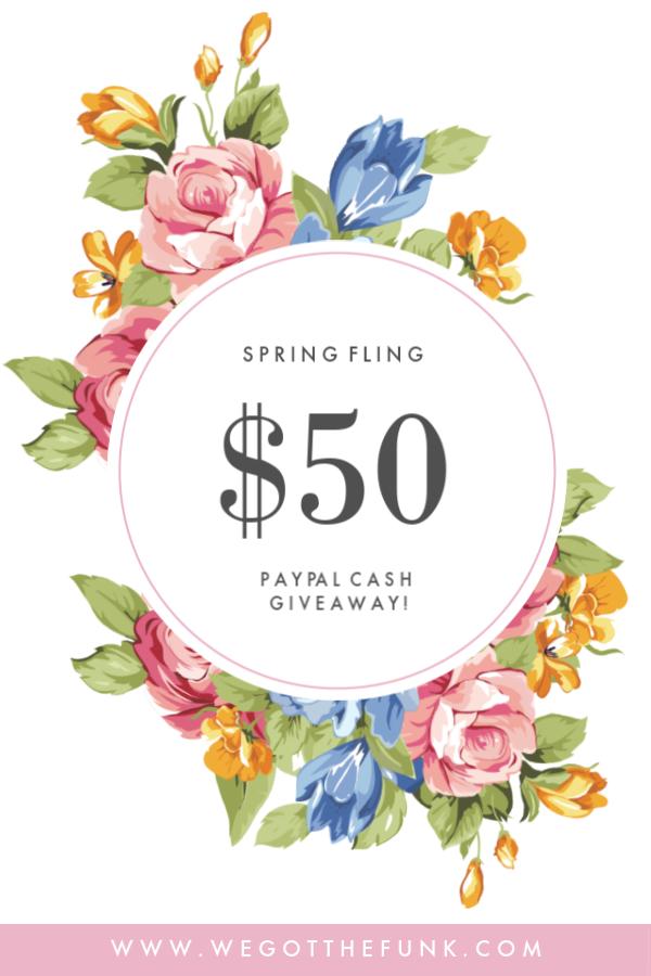 Spring Fling Giveaway | Giveaways | Giveaway, Spring, Cash prize