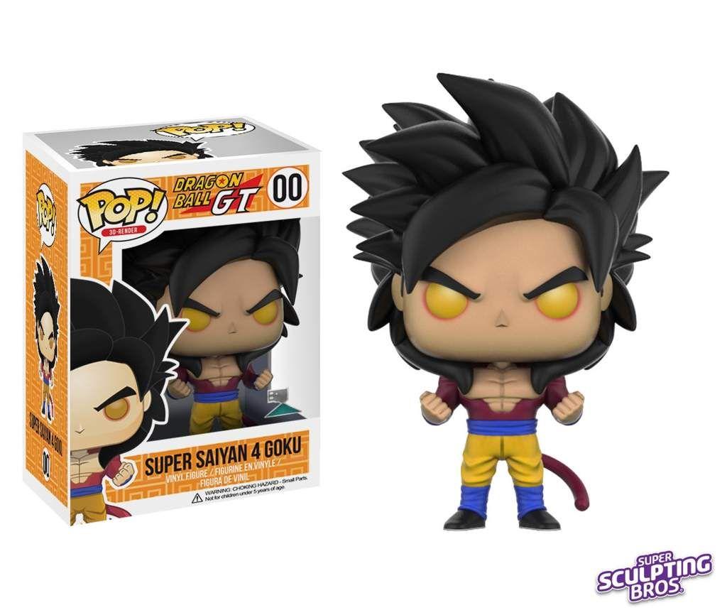Resultado De Imagen Para Super Saiyan 4 Goku Pop Figuras