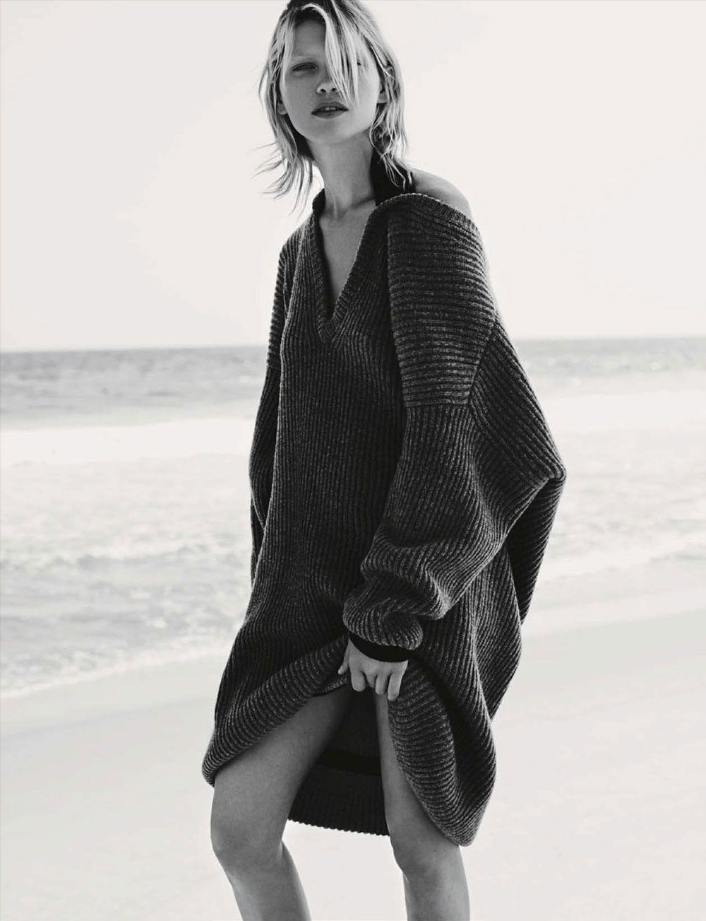 Hana, Jirickova, Luxury, Oversized, Knits, Winter, Fashion, Vogue ...