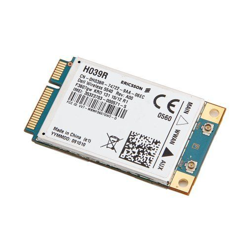 Dell Unlocked F3607g Ericsson Wireless 5540 3g Gps Wwan Card Quad