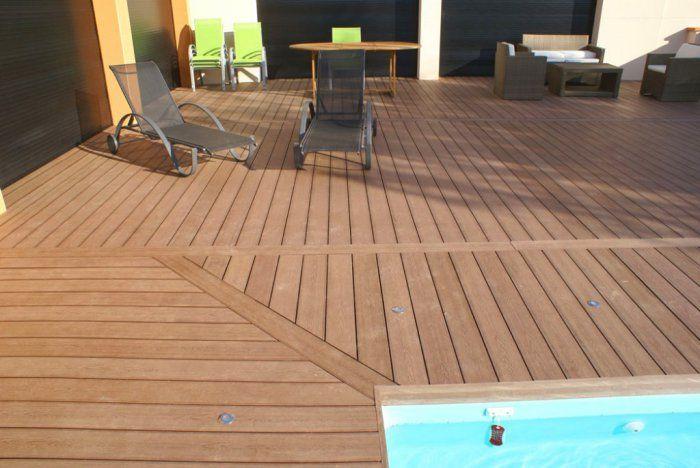 Terrasse composite  comment la construire ? - construire sa terrasse bois