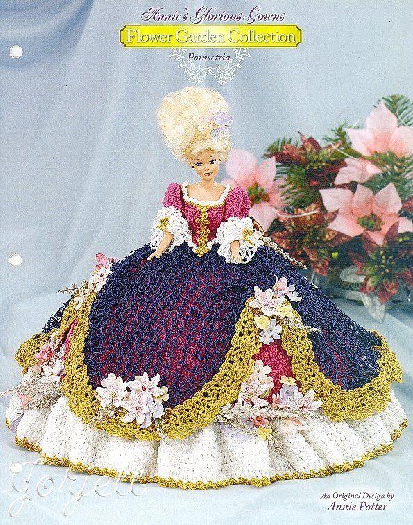 Poinsettia, Annie\'s Glorious Gowns Flower Garden Collection crochet ...