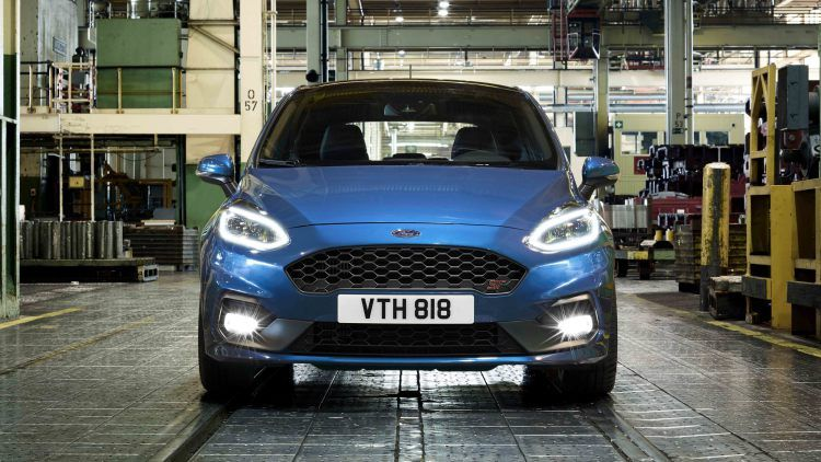 The New Ford Fiesta St Is A Three Cylinder Speed Machine Ford