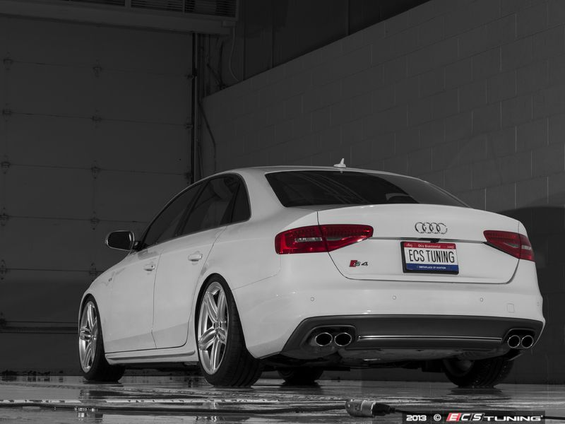 Audi B8 S4 Modifications: 8mm front and 12 5mm rear ECS