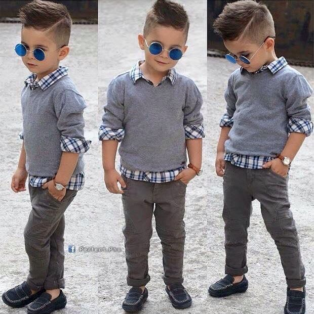 Hair To Match The Young Boy Preppy Outfit Little Boys Fashion