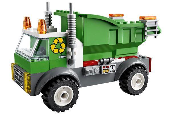 Lego Juniors Garbage Truck Lego Building Set Garbage Truck Lego Juniors Lego Junior Sets