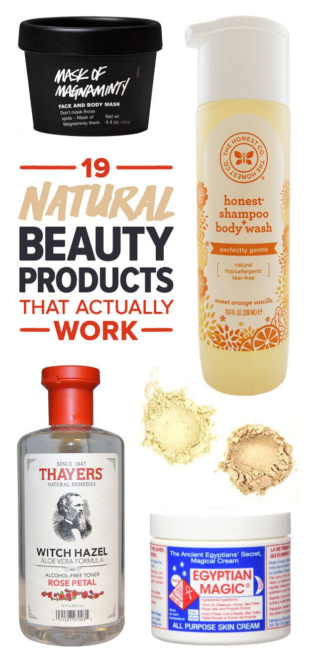 Photo of 19 Natural Beauty Products That Actually Work