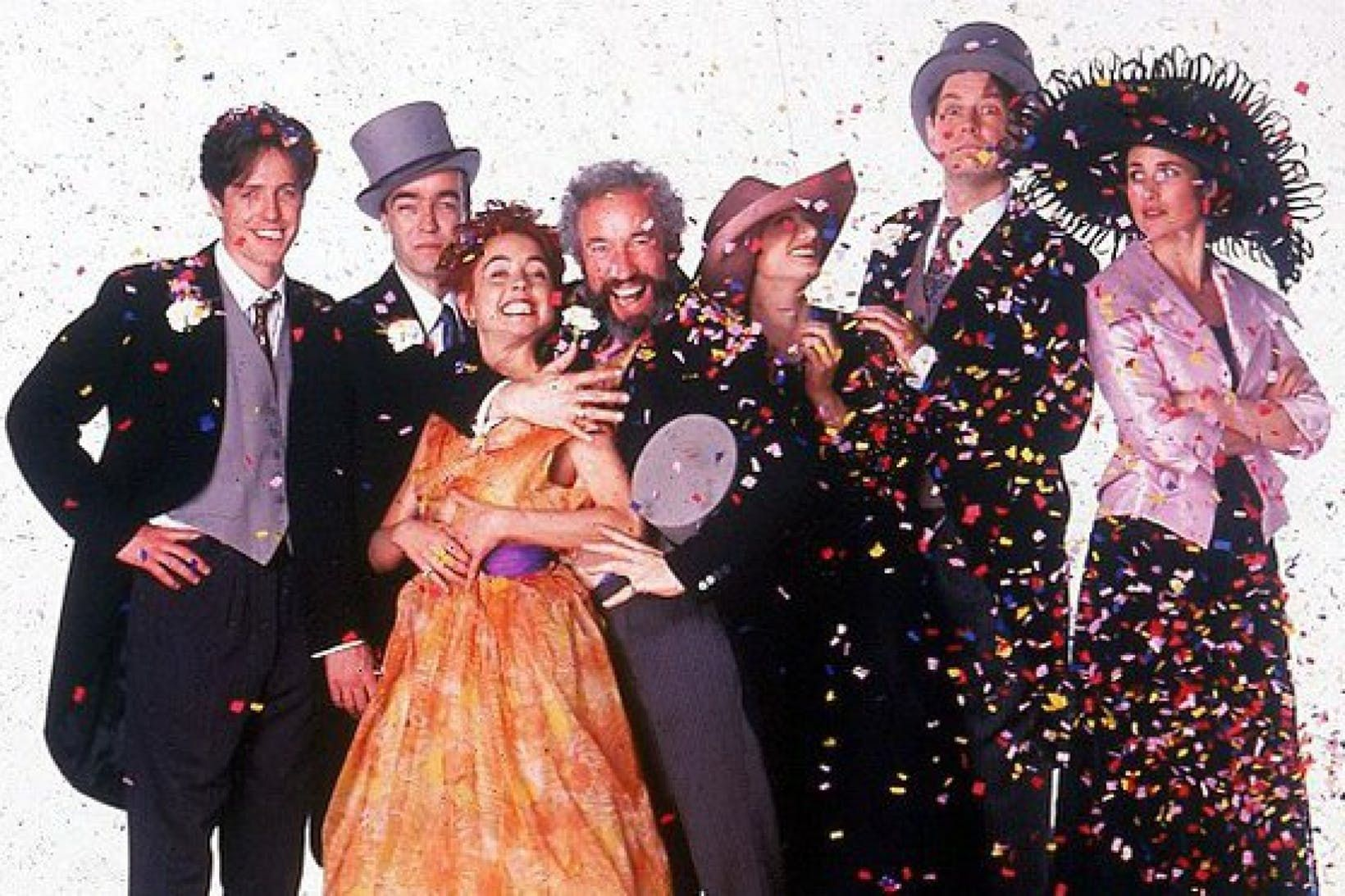 The cast of Four Weddings and a Funeral could have looked