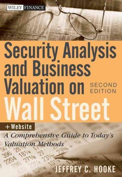 Security Analysis and Business Valuation on Wall Street A - sample personal financial statement example