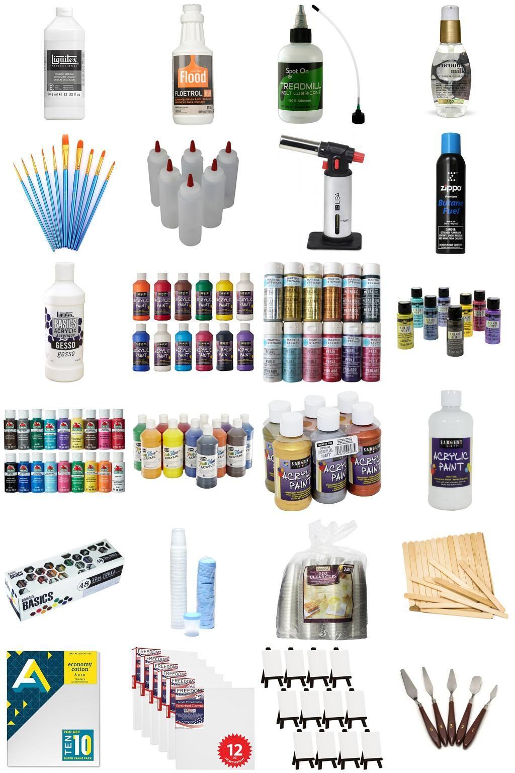 Acrylic Pouring Acrylicpouring In 2019 Acrylic Pouring
