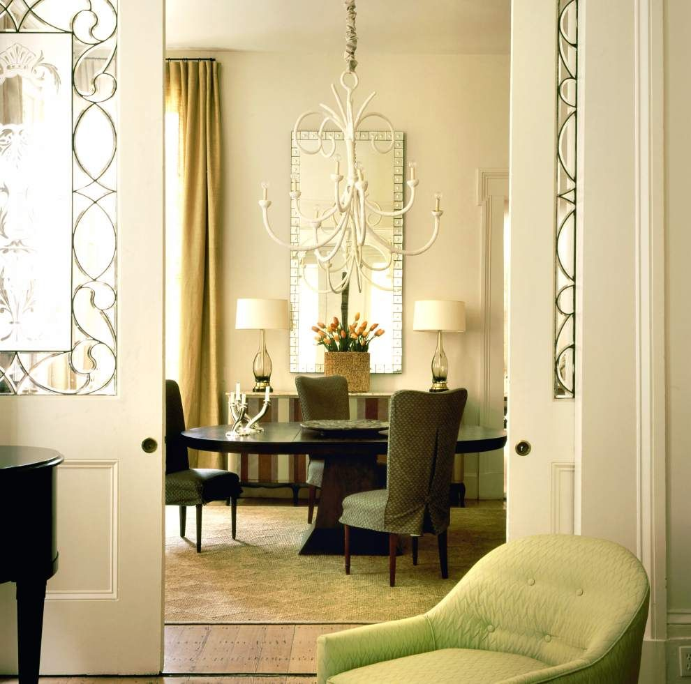 Dining Room in Greek Revival townhouse on Coliseum Square in New ...