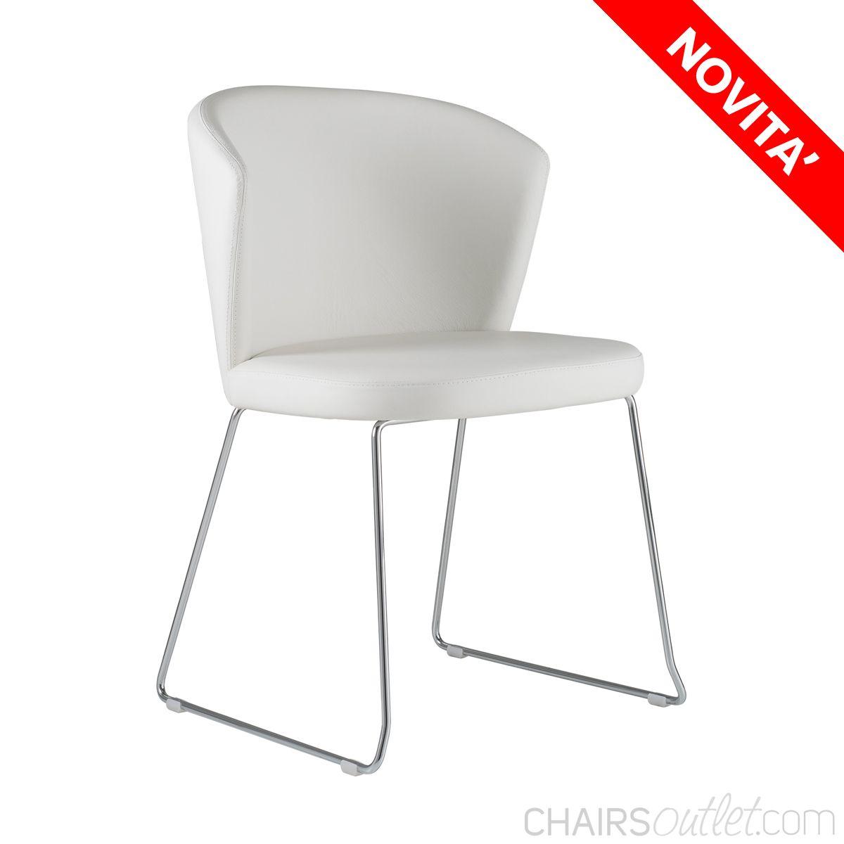 Sedie Acciaio E Plastica.Ines 7 Sedia In Metallo Di Design Madeinitaly Sedia Da