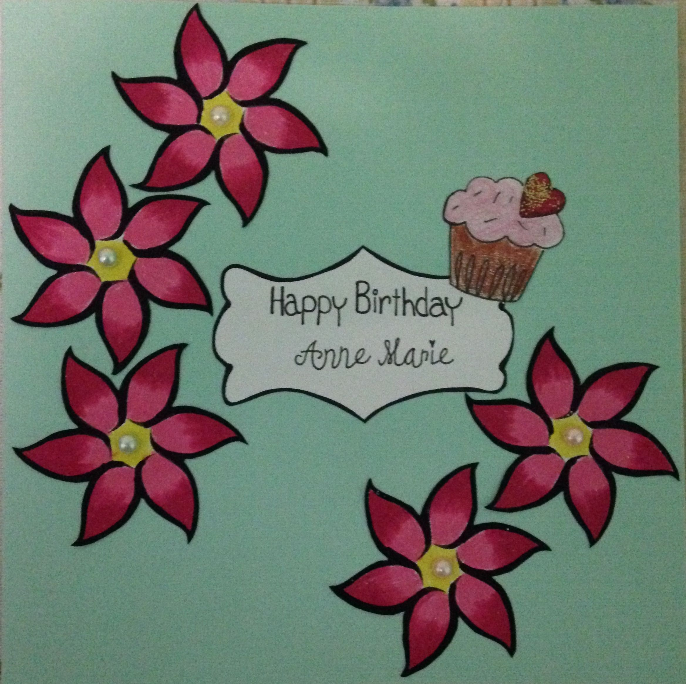Happy birthday card cardstock from michaels greeting cards find this pin and more on greeting cards cardstock from michaels m4hsunfo