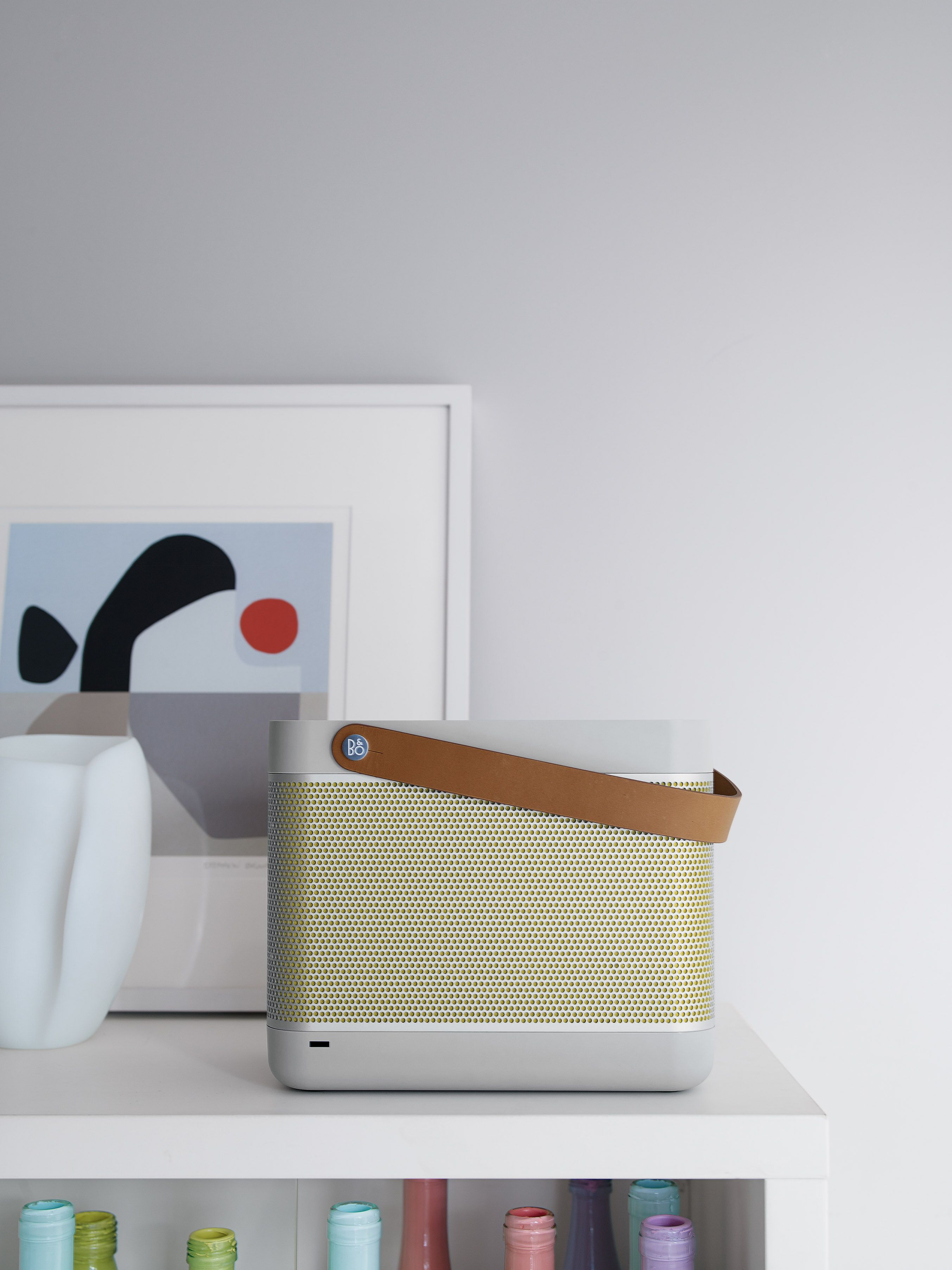 Bang & Olufsen is now at DWR. Beolit 12 Sound System | Designed by ...