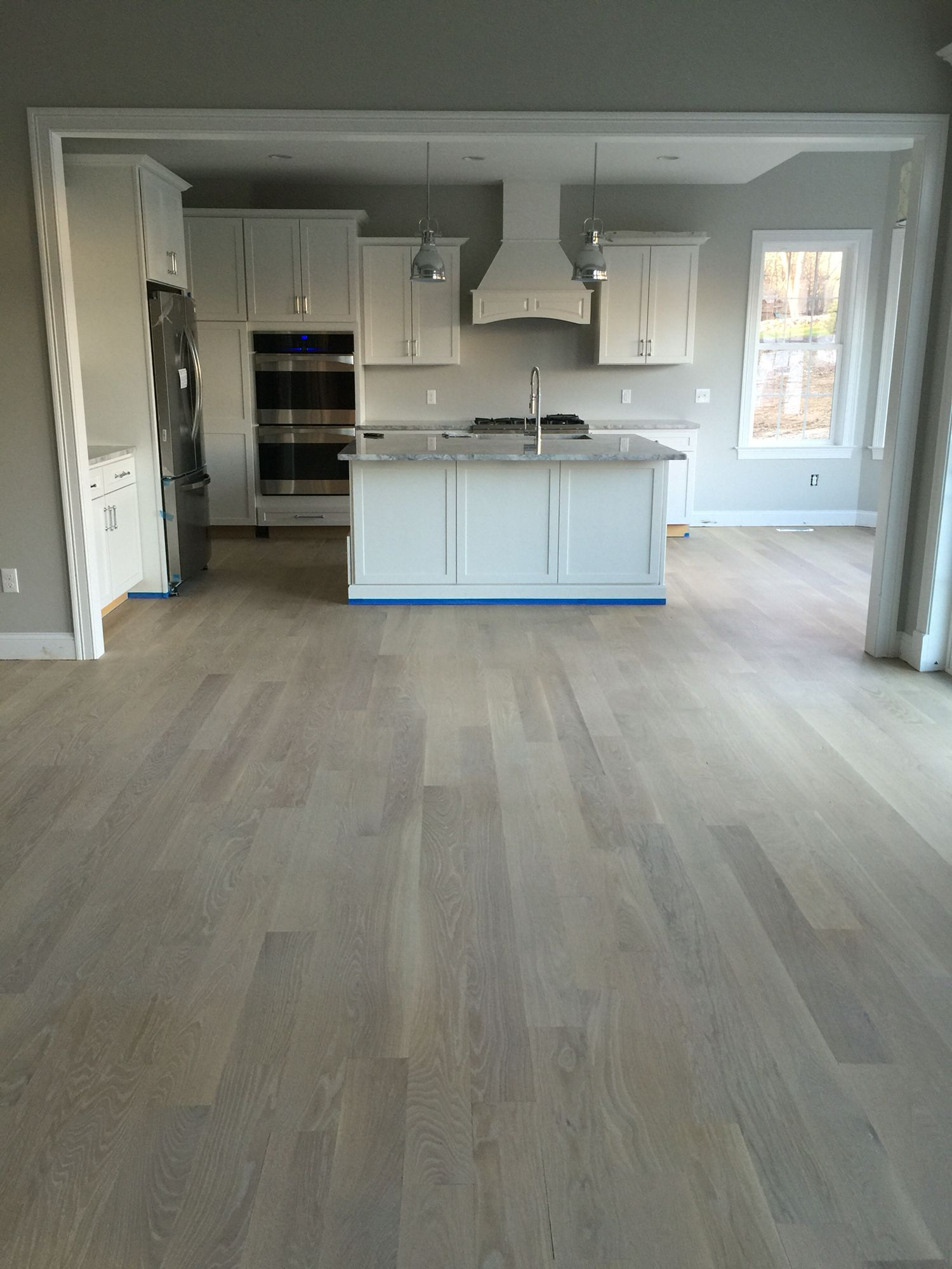 Rubio Monocoat Smoke Oil On 5 Inch Wide White Oak Planks Http Www Monocoat Us Precolor Easy Hardwood Floor Colors Wood Floors Wide Plank Flooring