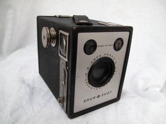 Agfa Shur Shot 1930s Film Camera / Tested / by MyVintageCamera, $35.00