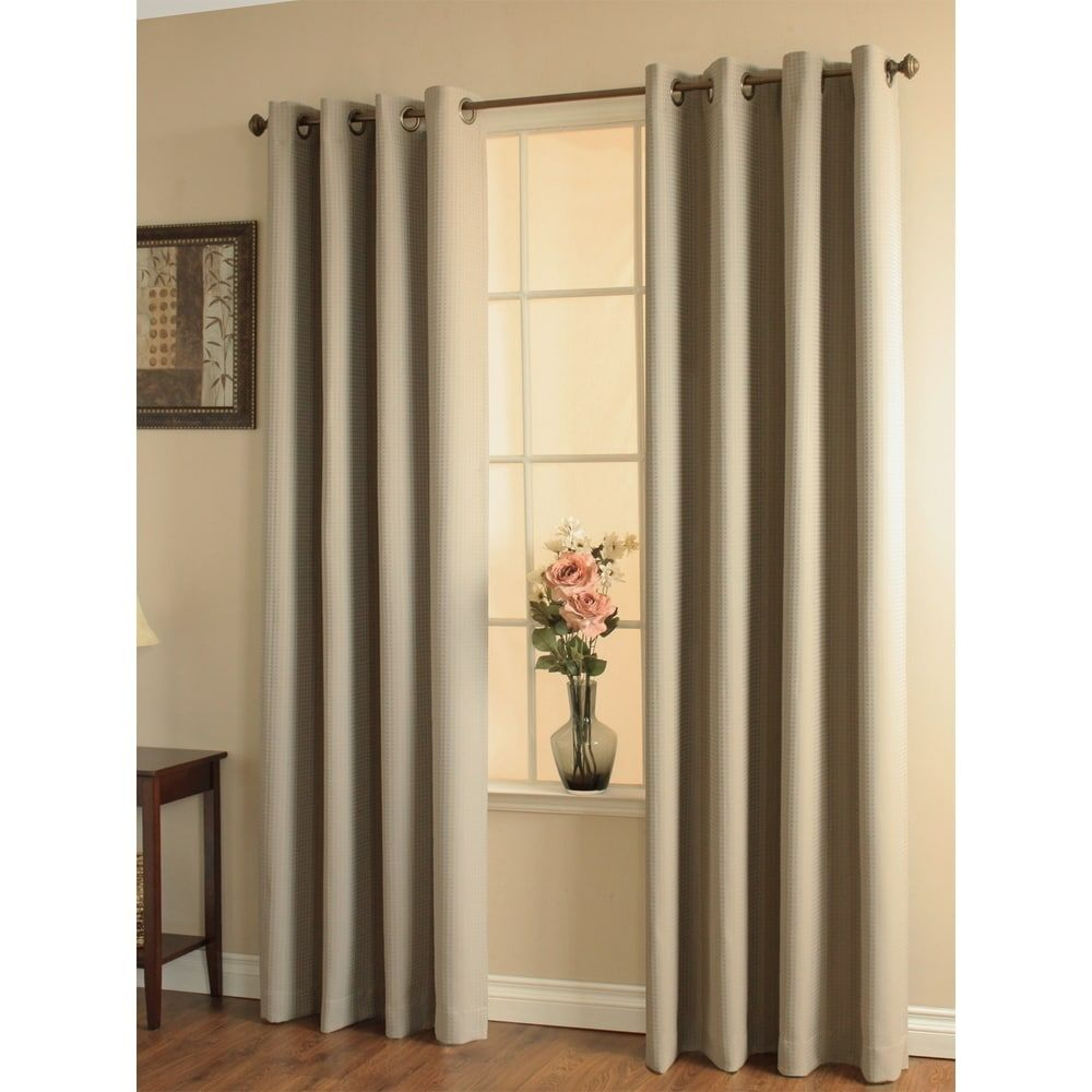 Thermalogic Darcy Grommet Top Blackout Curtain Panel 84 Inches