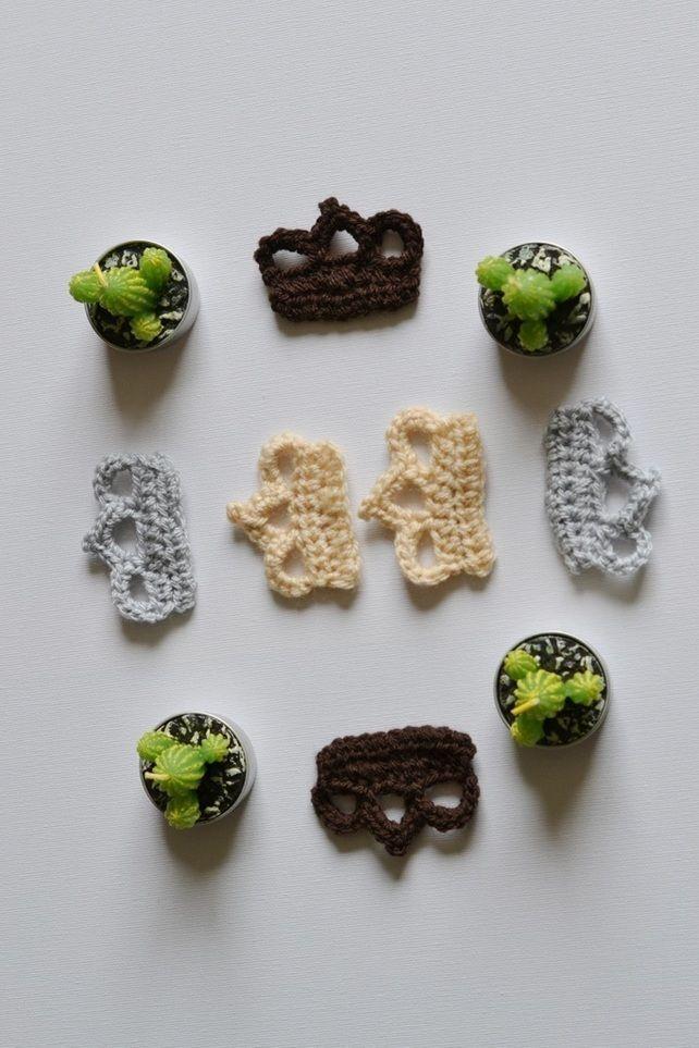 Crown Crochet Motifs Appliques #crownscrocheted Crown Crochet Motifs Appliques £2.50 #crownscrocheted