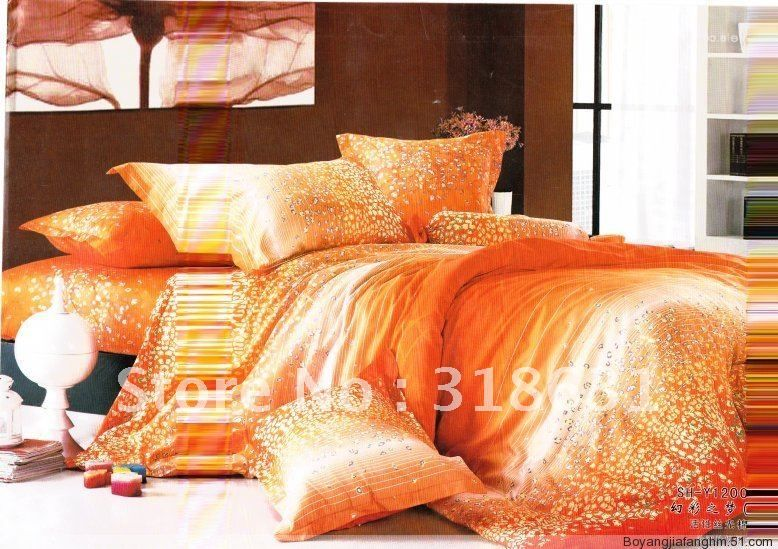 Bright Colored Comforter Sets With Inside Filler Full