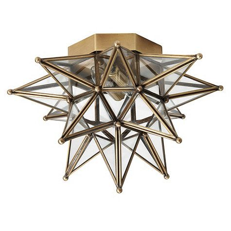 Moravian Star Ceiling Mount Star ceiling Mercury glass and Ceilings