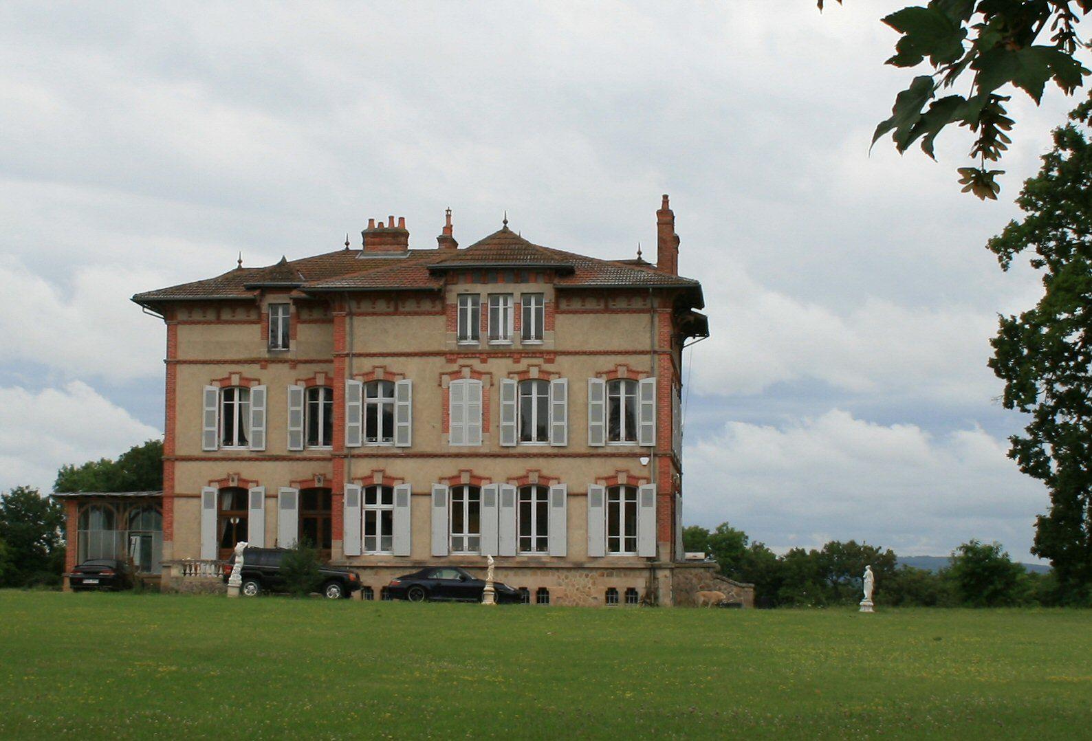 Chateau des Echardons, Auvergne, France