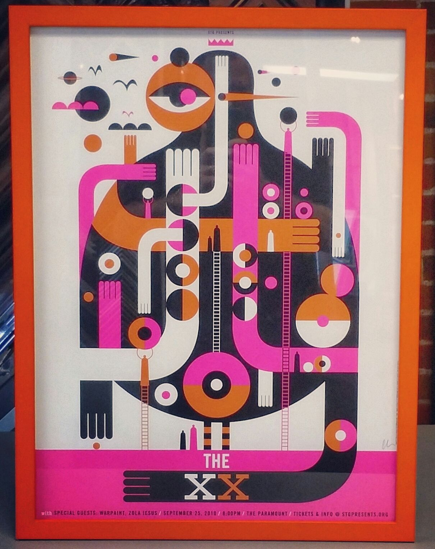 The xx framed concert poster! We f…   Art, Framing & Photography ...