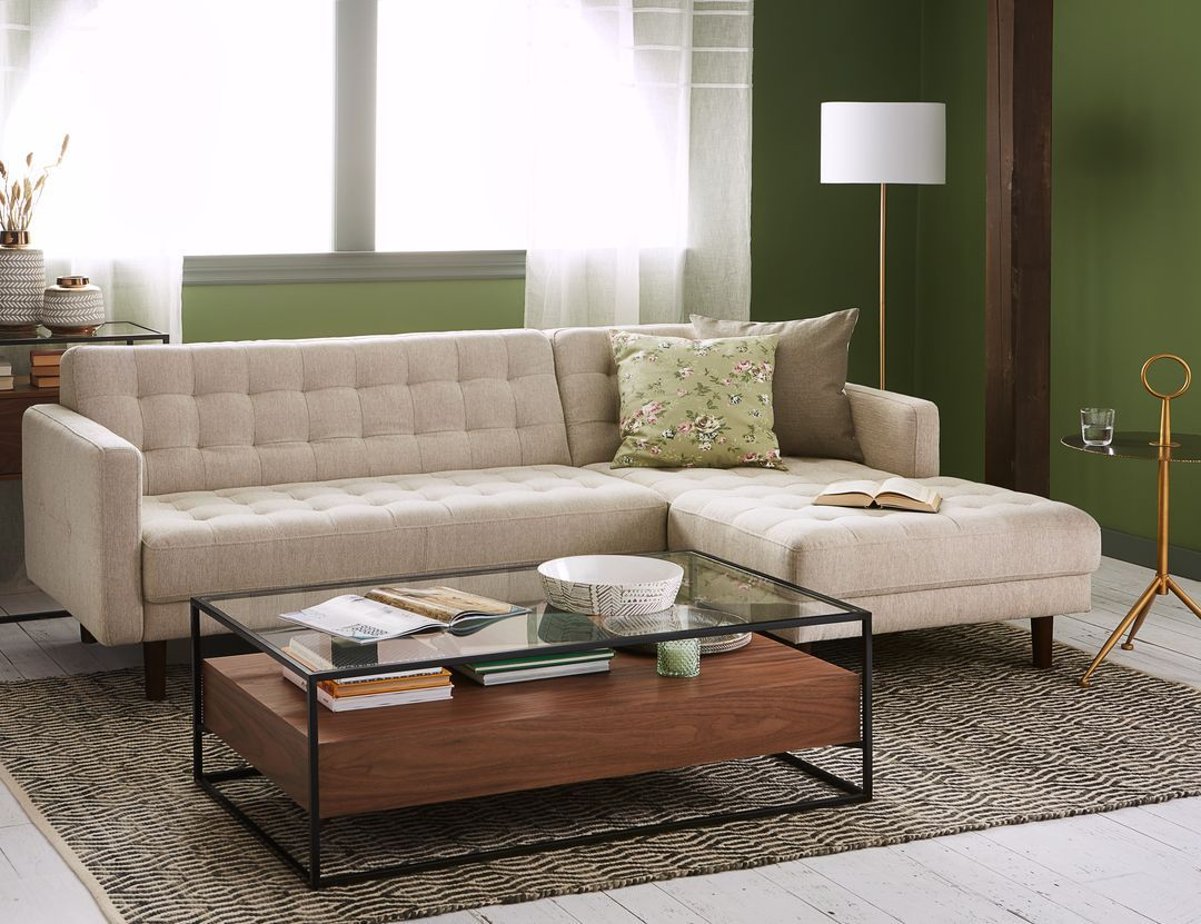 Brent Left Facing Sectional Sofa Living Room Furniture Layout Sectional Sofa Living Room Plan