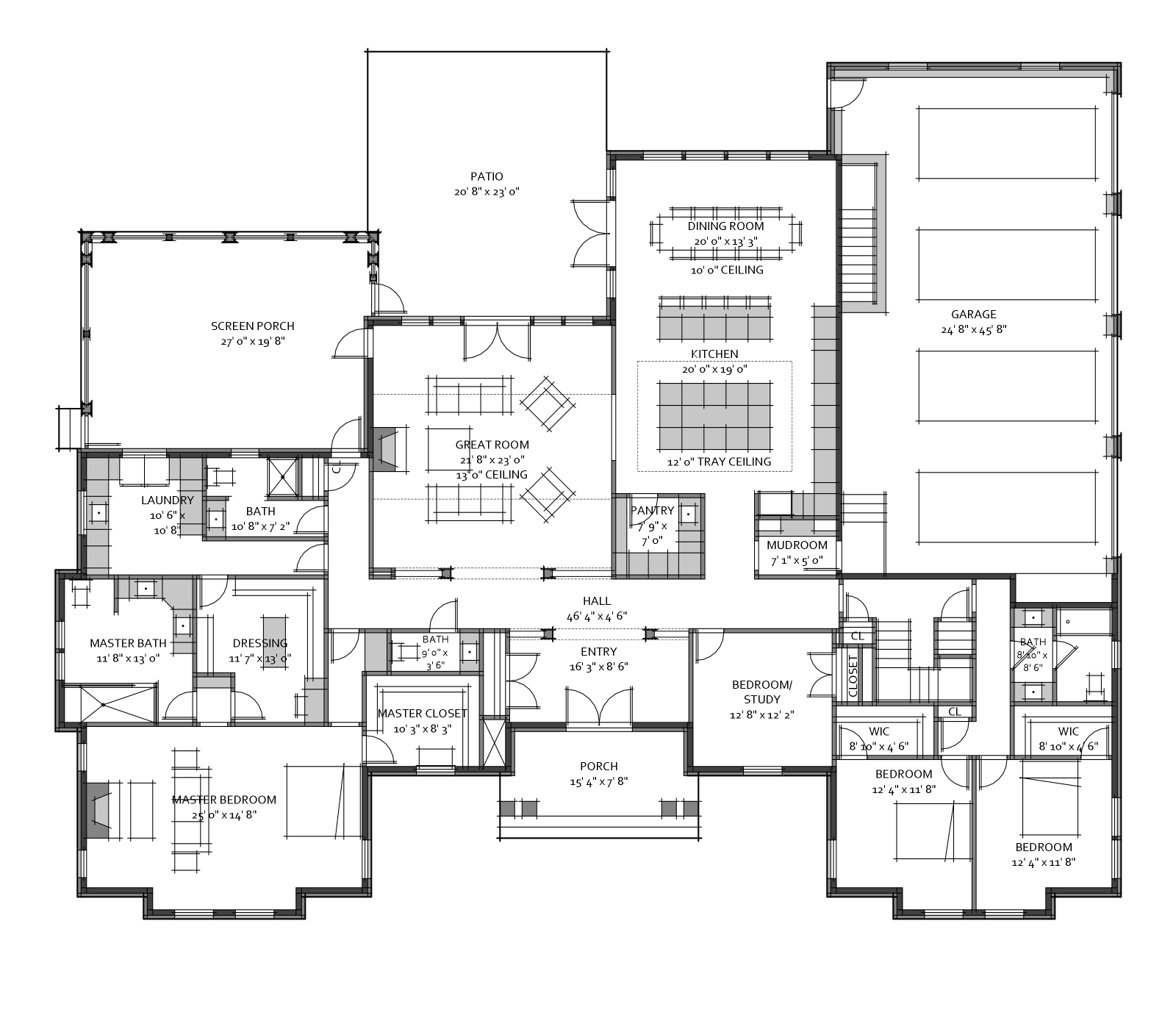 Custom House Plan For A Recent Client 3 600 Square Feet