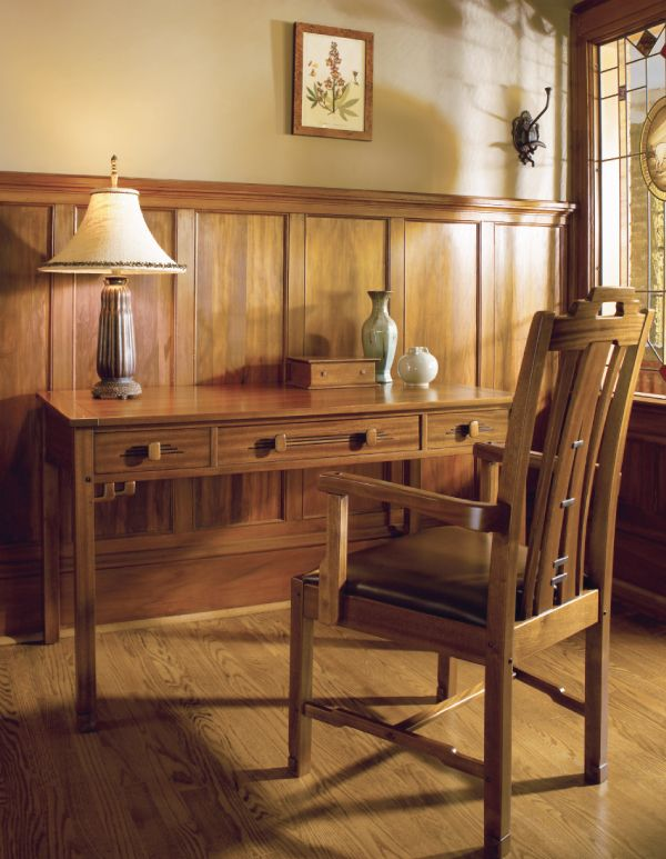 Stickley Dining Room Furniture: Nate: Like The Wainscott Library Desk By Stickley