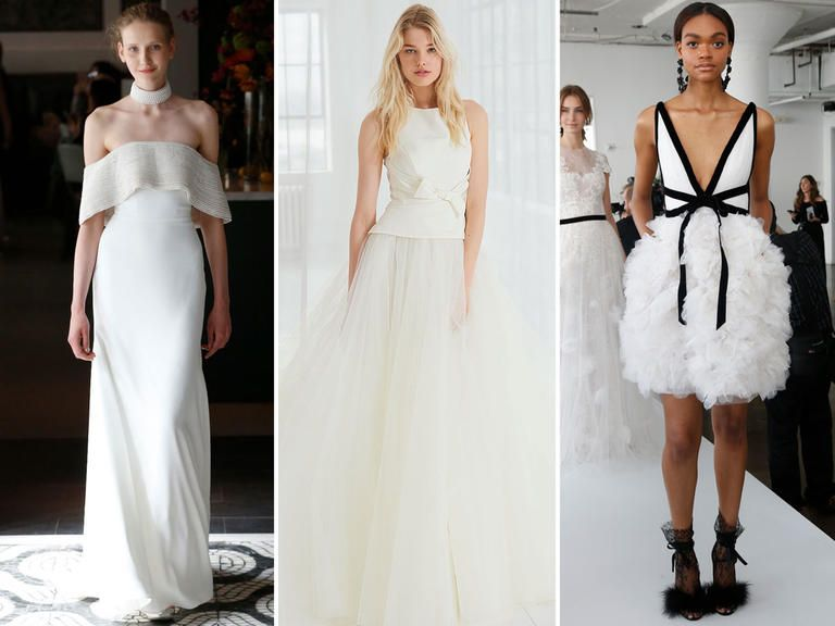 Spectacular Top Wedding Dress Trends From Spring Bridal Fashion Week