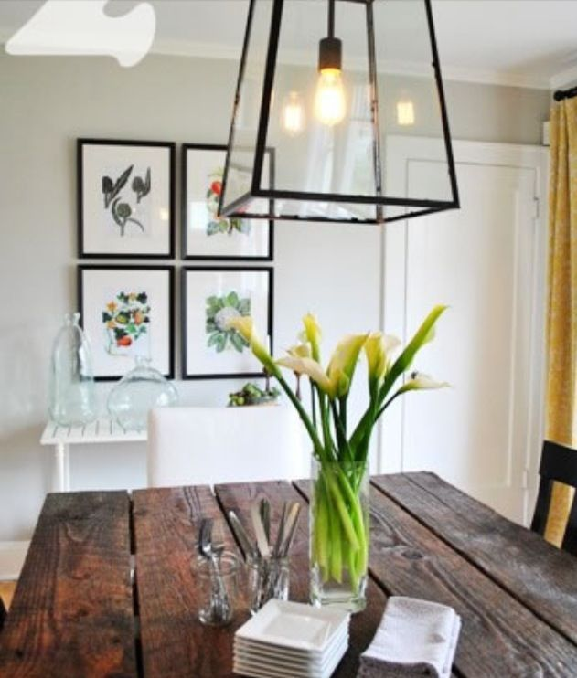 Home Staging Dining Room Table: Lighting #thebuildingguild