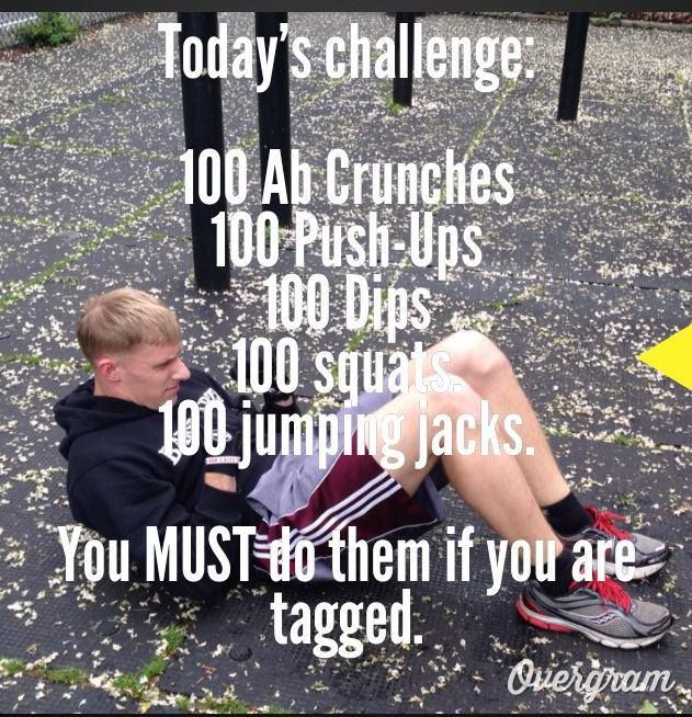 Todays Challenges For Crucial Aspects Of Weightlifting: Today's Instagram Challenge Is Here! @Barstarzz