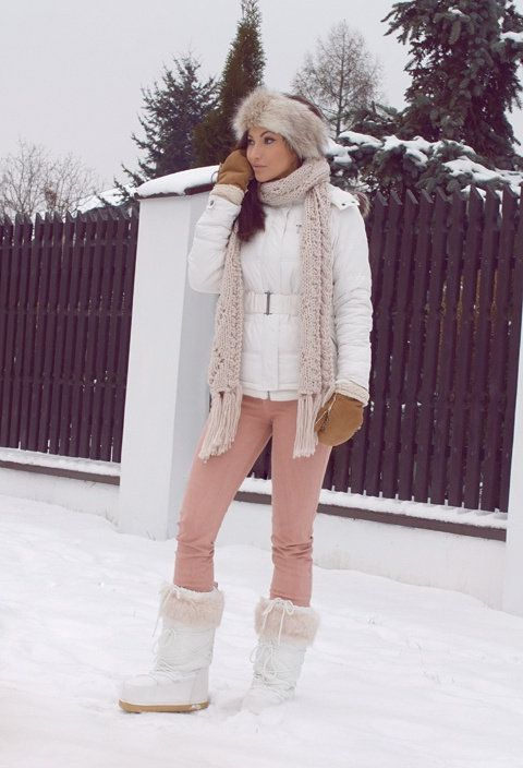 Chic Winter Ski Layers Keeping This Look In Mind For When
