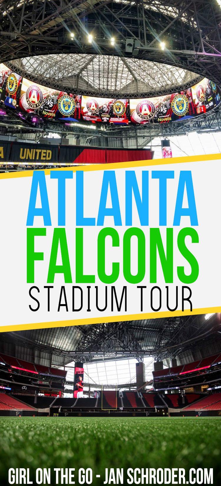 Amazing Behind The Scenes Tour Of Atlanta S New Stadium Usa Travel Destinations Atlanta Falcons Stadium Travel Inspiration Wanderlust