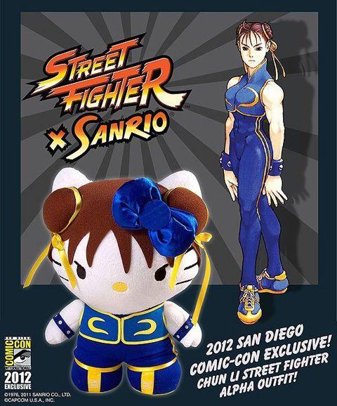 Adoraria ter na minha coleção essa #Wishlist de #Pelúcias da #HelloKitty fantasiada de outros personagens | www.corujinhalulu.com ---  #Capcom #StreetFighter #ChunLi
