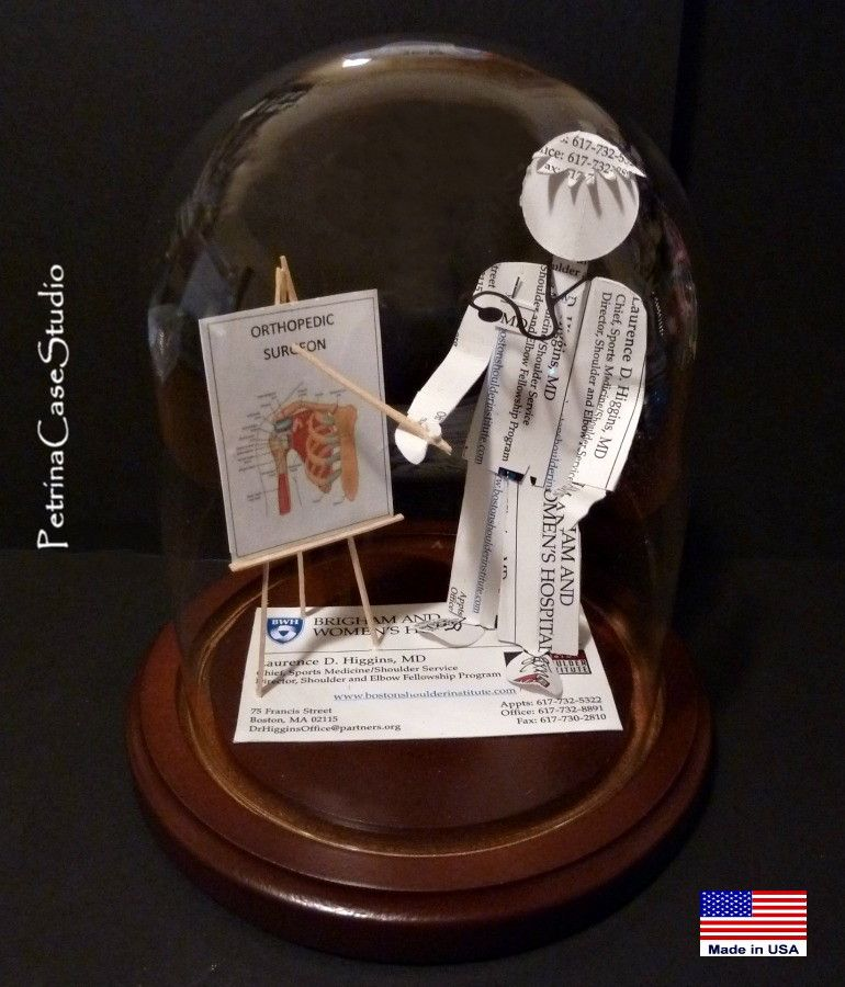 Orthopedic Surgeon Business Card Sculpture. Available custom made ...