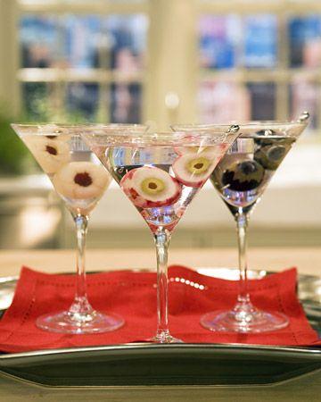 OJOS   Lichi Martinis y Uva Globo