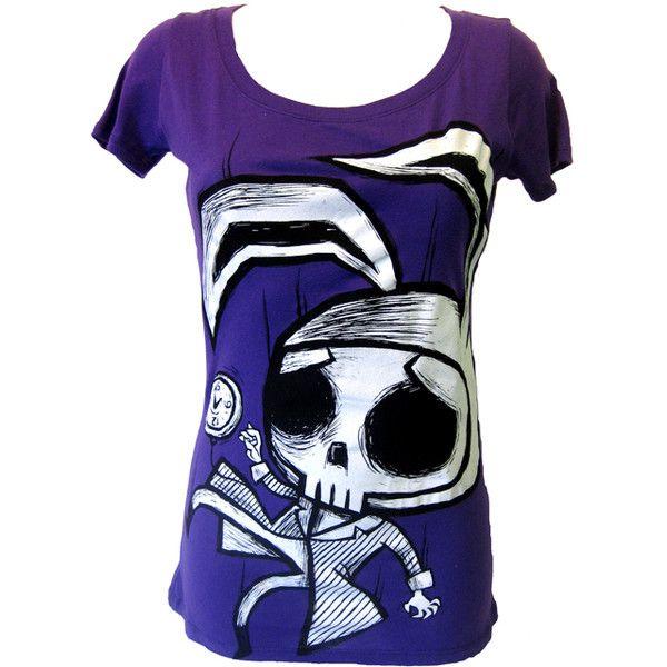 Bunny ShirtGothic Ink Emo T Akumu Skull Clothing oxCrBeWd