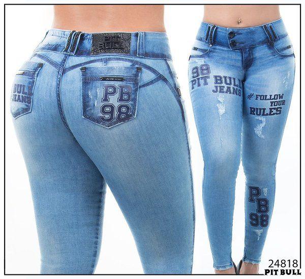 Calça Pit Bull Jeans Nova Coleção C Bojo - Ref. 24818  c7aff316264
