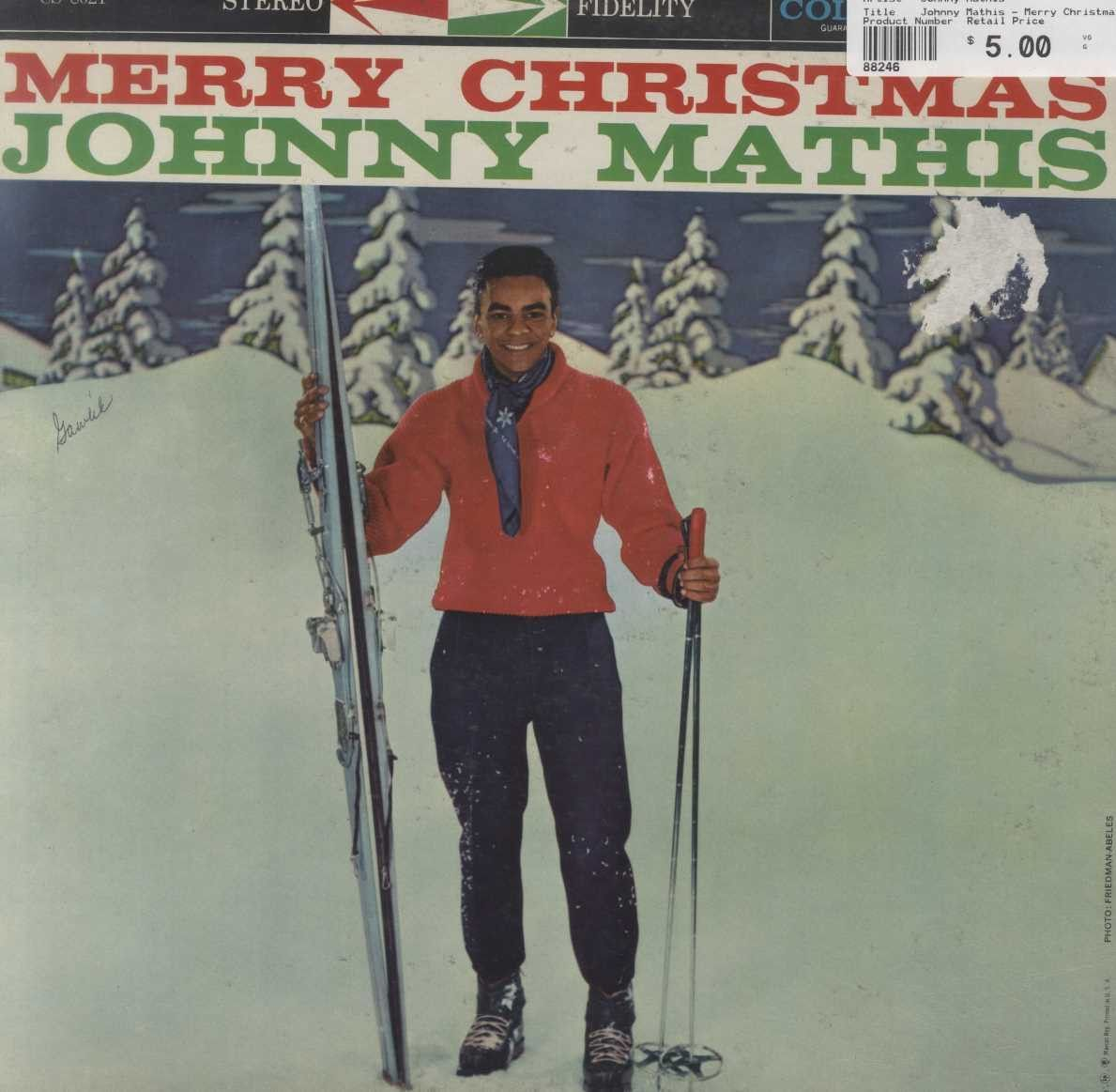 Johnny Mathis - Merry Christmas   Pinterest   Johnny mathis and Products