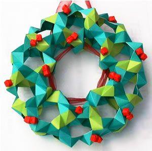 origami navidad