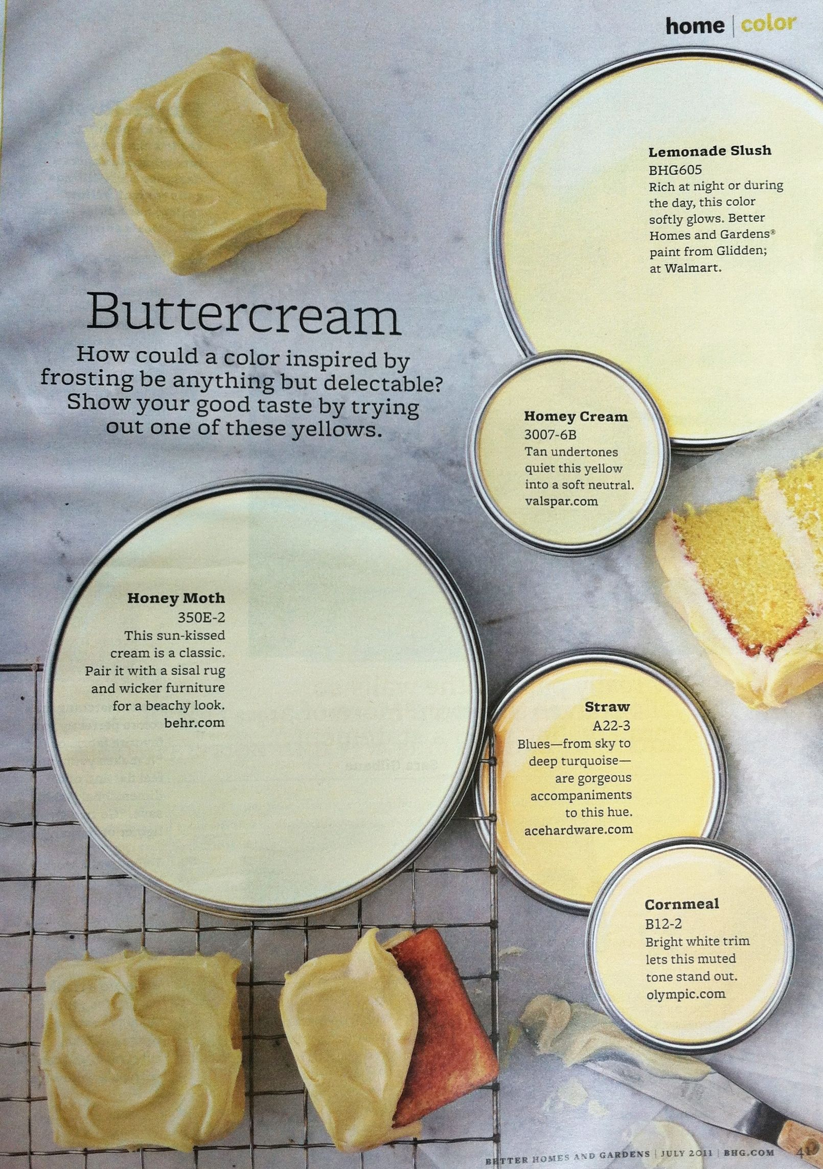 Awesome buttercream Paint
