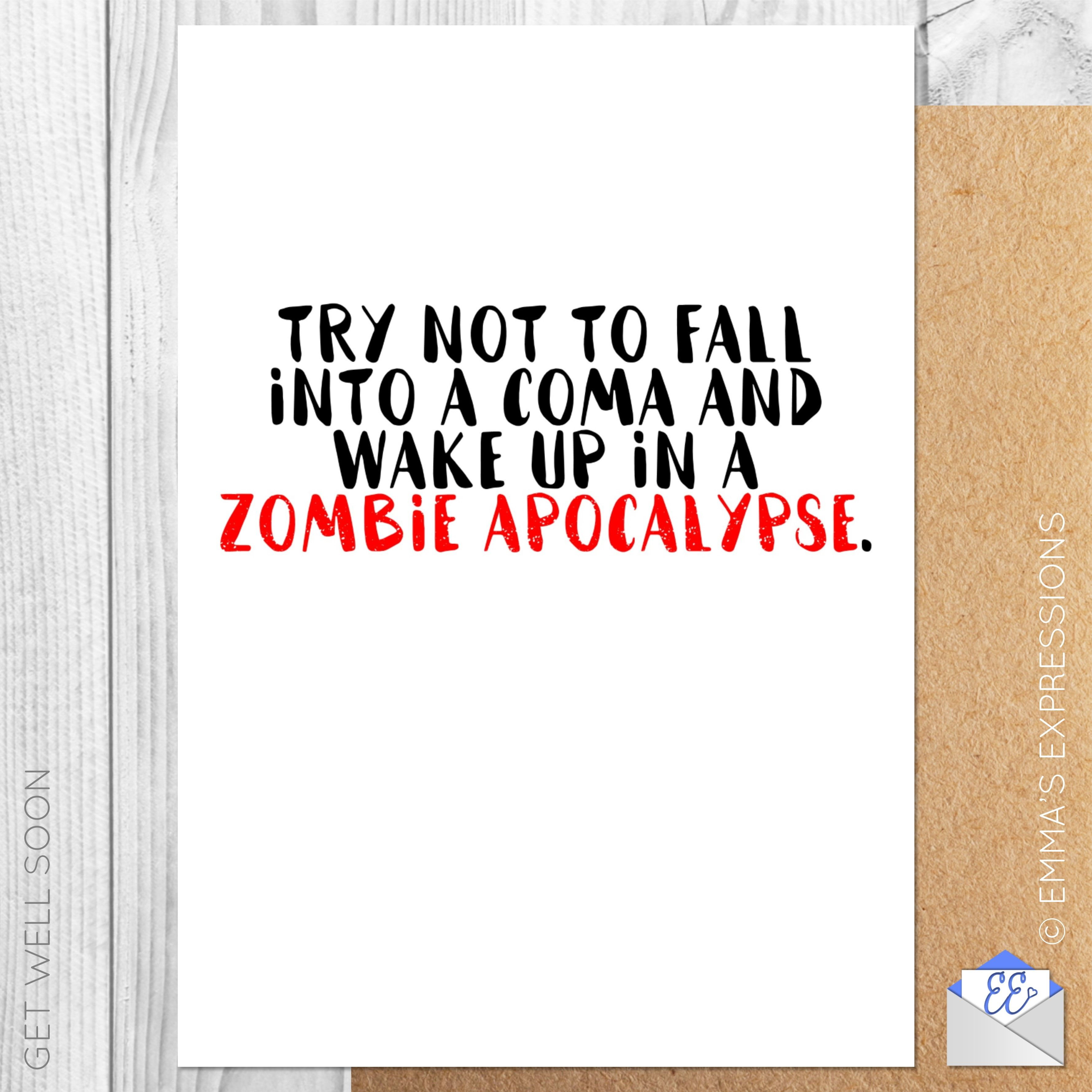 Try Not To Fall Into A Coma And Wake Up In A Zombie Apocalypse