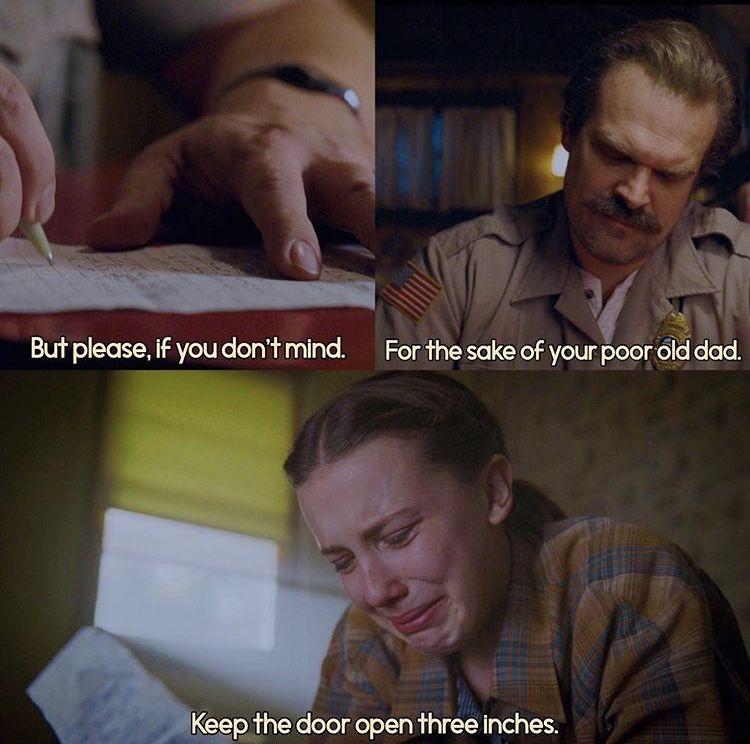 Saddest moment of the whole series #strangerdanger