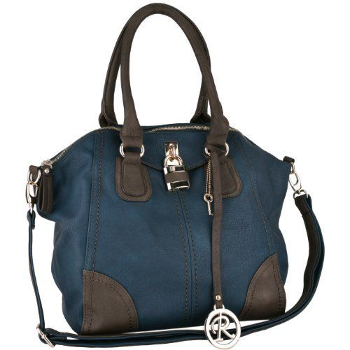 $44.50 Teal with Brown Accents Padlock Top Double Handle Office Tote Shopper Hobo Satchel Purse Handbag Shoulder Bag MG Collection,http://www.amazon.com/dp/B00A3GKL64/ref=cm_sw_r_pi_dp_RFr4qb0HYF3NXDS7