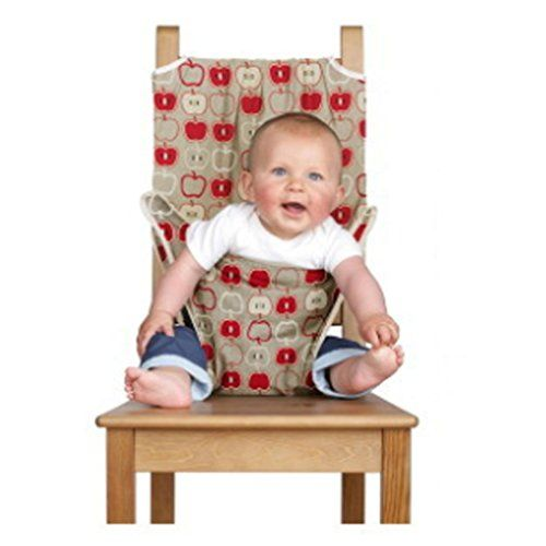 Amazon Com Totseat Chair Harness The Washable And Squashable Travel High Chair In Apple Child Baby Sewing Projects Sewing Projects For Kids Diy Baby Stuff