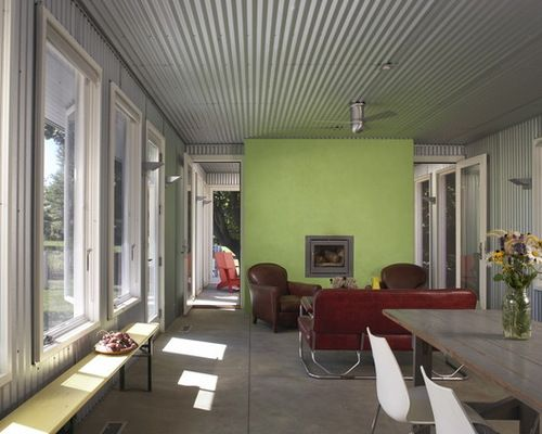 Corrugated Metal Ceiling Home Design Ideas Pictures