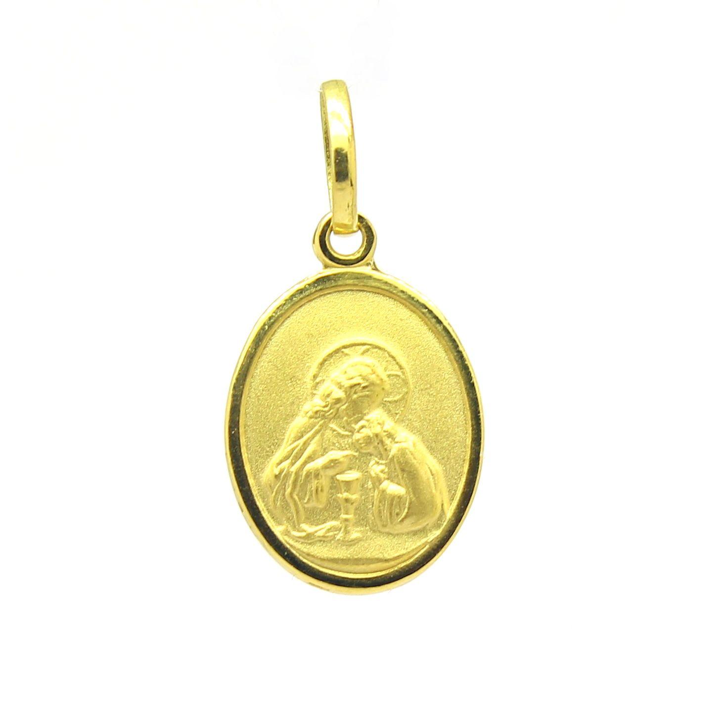 364032c4cdf88 Pingente Primeira Eucaristia Ouro Amarelo 18k 750 - Marcio Joalheiros   Marcio  Joalheiros